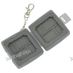PUDEŁKO / FUTERAŁ / ETUI na karty MICRO SD SDHC ; CF ; XD