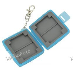 PUDEŁKO / FUTERAŁ / ETUI na karty pamięci: 4x SD ; SDHC