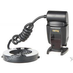 Lampa błyskowa pierścieniowa MAKRO RING, model VK-100N do Nikon (Manual)