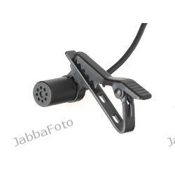 Mikrofon pojemnościowy z klipsem BY-LM20, do kamer GoPro Hero 2, 3, 3+