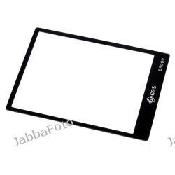 Szklana osłona LCD Nikon D5000