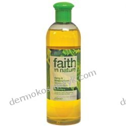 Naturalny Żel pod prysznic i do kąpieli FAITH IN NATURE Hemp & Meadowfoam 400 ml