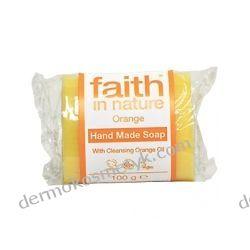 Pomarańczowe Naturalne Mydło Ręcznie Robione 100 g