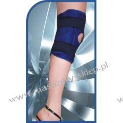 Stabilizator  magnetyczna na kolano-kolor biały Maty i poduszki masujące