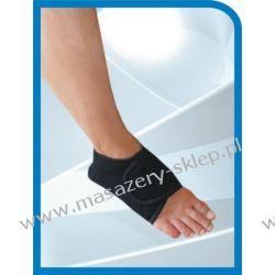 Opaska magnetyczna na stopę - kolor biały Maty i poduszki masujące
