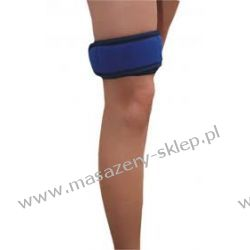 Opaska uniwersalna kolano-kolor biały Wyszczuplające, ujędrniające