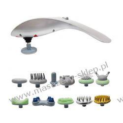 MASAŻER RĘCZNY -APARAT MASUJĄCY 11 IN 1-LUSCURIOUS Sprzęt i urządzenia do masażu
