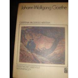 CIERPIRNIA MLODEGO WERTERA - J.W. GOETHE _A4