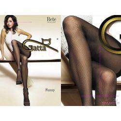 Gatta Funny Rajstopy Imitacja Kabaretki Sexy 3M