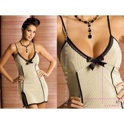 Obsessive Cafelatte Chemise Styl Glamour Sexy L/XL