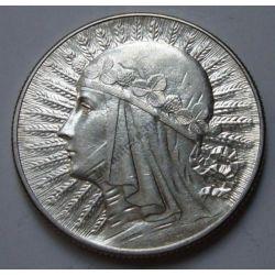 5 zł Głowa Kobiety 1934 mennicze mennicza !