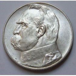 5 zł Piłsudski 1938 mennicza menniczy rzadka