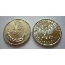 10 gr groszy 1979 mennicza mennicze