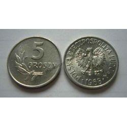 5 gr groszy 1968 mennicza mennicze
