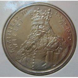 100zł Kazimierz Wielki 1987 mennicza próba niklowa