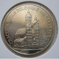 100zł Kościół Mariacki 1981 mennicza próba niklowa