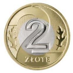 2 zł złote 1995 mennicza mennicze