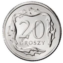 20 gr groszy 2011 mennicza mennicze z woreczka