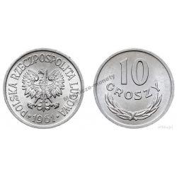 10 gr groszy 1961 mennicza mennicze