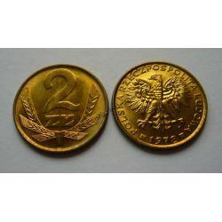 2 zł złote 1978 bzm mennicza mennicze