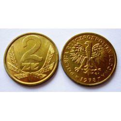 2 zł złote 1978 zzm mennicza mennicze