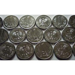 1 zł złoty 1986 mennicza menniczy