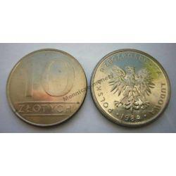 10 zł złotych nominał 1984 mennicze mennicza