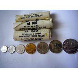 1 2 5 10 20 50 100 zł z 1990 mennicze komplet