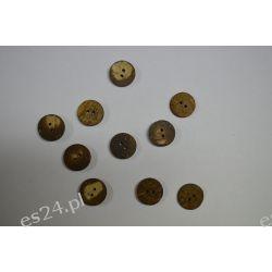 Drewniane Guziki 10 szt 20mm