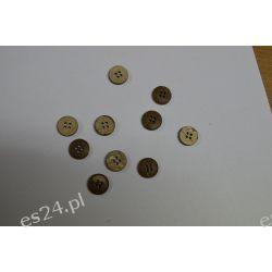 Drewniane Guziki 10 szt 10mm