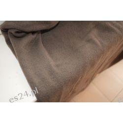 Kupon Wełny Płaszczowej Kolor Jasny Brąz 55cm Pozostałe