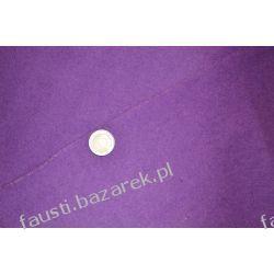 Wełna płaszczowa fioletowa Pozostałe