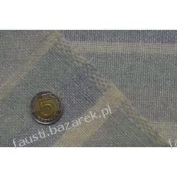Wełna w pasy zielono-szaro-beżowa Kolekcje