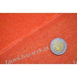 Wełna płaszczowa pomarańczowa