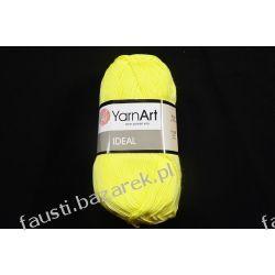 Włóczka Ideal Jasny Żółty 224