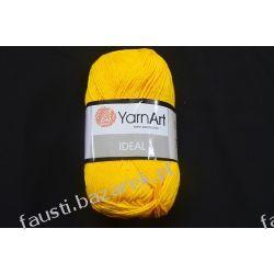 Włóczka Ideal Żółta 228