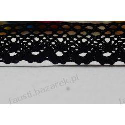 Koronka Bawełniana Czarna 35mm/1mb (kb#242cz/d)