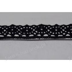 Koronka Bawełniana Czarna 10mm/1mb (kb#118cz/d)