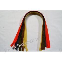 Zamki Kryte #3  55cm 5 x 10szt. Zestaw nr.2 Koronki i hafty