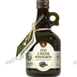 Olej z pestek winogron Oleofarm 500ml.
