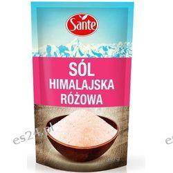 Sól Himalajska różowa drobna Sante 350g.