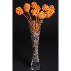 Sprężynka Flower Ball pomarańczowa...