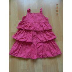 sukienka z falbankami rozm. 86