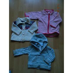 Sweterki dla dziewczynki rozm.68