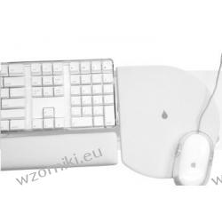 iRest podkładka pod mysz i dostawka do klawiatury (biały)