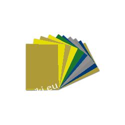 Indywidualna karta z kolorem RAL palety Classic - A4