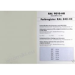 Pojedyncza karta RAL 840 HR – Matowe wykończenie