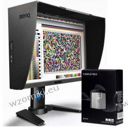 Monitor BENQ PG2401PT + X-Rite i1Display PRO - 24 cale/ciemnoszary/kaptur/kalibracja sprzętowa