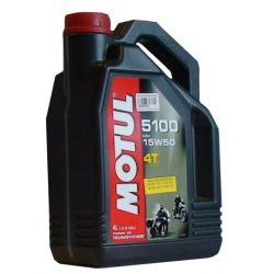OLEJ MOTOCYKLOWY MOTUL 4T 5100 15W50 4L - PRUSZKÓW