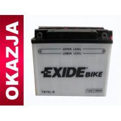 Akumulator motocyklowy  EXIDE-CENTRA YB16L-B